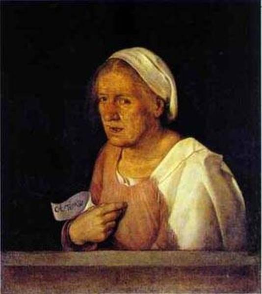 La vecchia 1502 1503 galleria dellaccademia venice italy